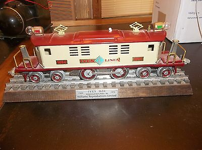 Ives Lines 1694 Electric Engine 4-4-4 Powered By Williams Lionel Motor Nice!