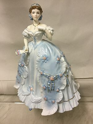"Royal Worcester Large Figurine ""the Last Quadrille """