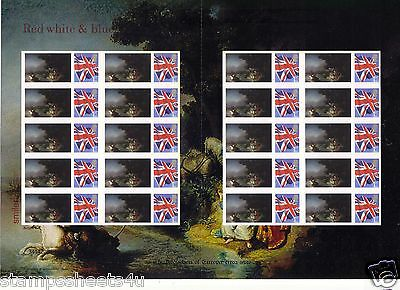 Tsl-136 / A59 Rembrandt The Abduction Of Europa 'art' Smilers Stamp Sheet