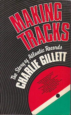 "BOOK ""MAKING TRACKS: The Story of Atlantic Records"""
