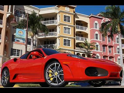 2008 Ferrari 430 Base Coupe 2-Door Rosso Corsa Red TAN 430 SPIDER Coupe 360 550 599 575 458 456 FF F12 F1