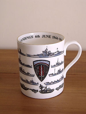Royal Worcester Limited Edition D Day 50 Year Commemorative Mug (Never Used)