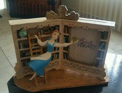 Belle in Library picture frame Disney Store - Beauty and the Beast