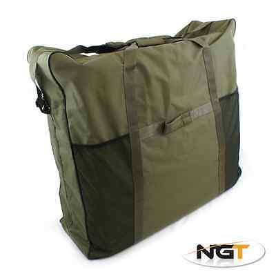 Large Ngt Bedchair Bag Deluxe Padded Bed Chair Carry Holdall With Carry Strap