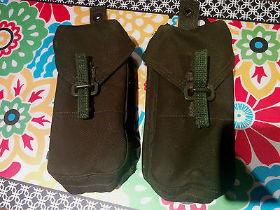 2 X 20 RD Canadian Military Army Surplus FNC1 82 Pat Mag Pouches