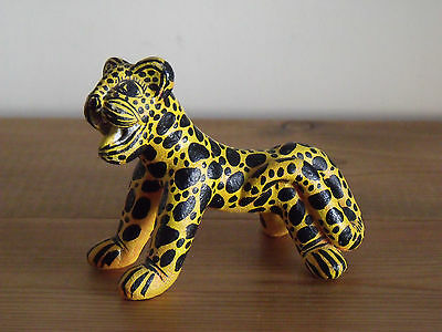Cute Unusual Novelty Leopard Ornament - Metal or Resin (not sure)