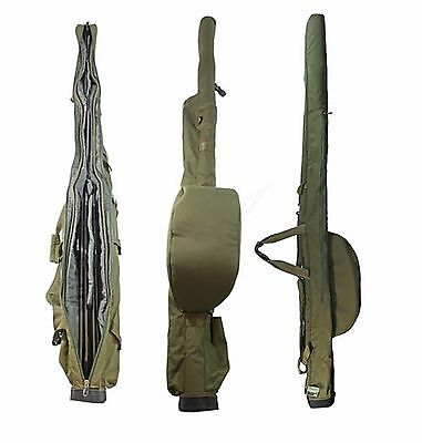 Deluxe Twin Rod Sleeve / Holdall For 2 Made Up 12ft  Rods Carp Fishing NGT BAG