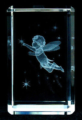 New Cherub Laser Crystal Rectangle