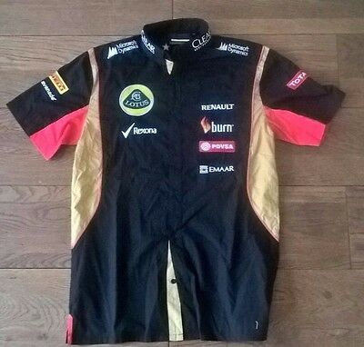 2014 Lotus F1 Team Official Team Shirt Size S