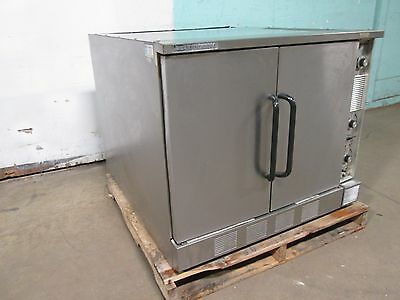 """market Forge M2300Hec"" Hd Commercial Ss Natural Gas Stackable Convection Oven"