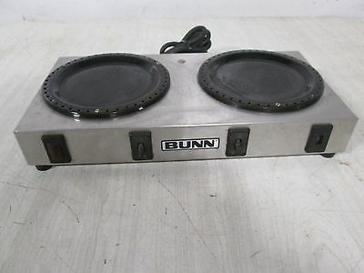 """bunn Wx2"" Heavy Duty Commercial (Nsf) 120V Dual Coffee Pot Warmer/hot Plate"