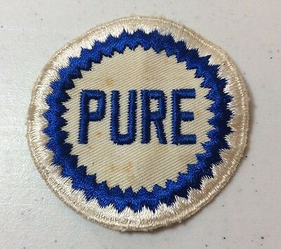 Vintage Pure Oil Co Gas Station Attendant Patch