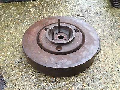Coventry Victor Large Flat Belt Pulley Very Heavy