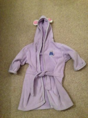 Baby Girls Dressing Gown 0-12 Months