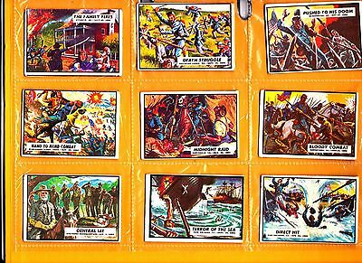 Civil War News Cards   A&BC Gum 18 odds very good condition