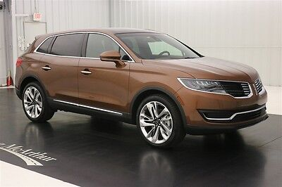 2016 Lincoln MKX BLACK LABEL THOROUGHBRED NAV SUNROOF MSRP $62540 NAVIGATION VENETIAN LEATHER SEATS ALCANTARA WRAPPED HEADLINER WITH MOONROOF