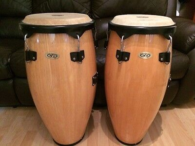 Pair of LP/CP Congas Used But In Great Condition 70cm Tall