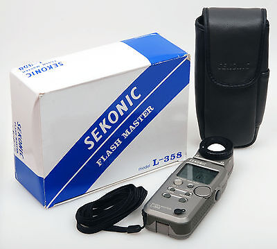 Sekonic L-358 Flash Master + RT-32 wireless module