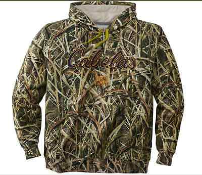 New!Cabela's Men's Opening Day Camo Hoodie Realtree Max-5 Size: MD Shadow Grass
