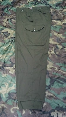 Canadian Military Army Surplus MKII Combat Pants  Lightly Used