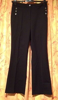 New With Tags Ladies EP Pro Micro Bootleg Pant - UK Size 10 - US Size 6 - Black