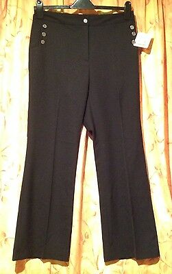 New With Tags Ladies EP Pro Micro Bootleg Pant - UK Size 14 - US Size 10 - Black