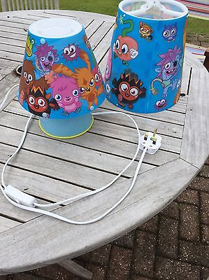 Moshi Monsters Lampshade And Bedside Lamp
