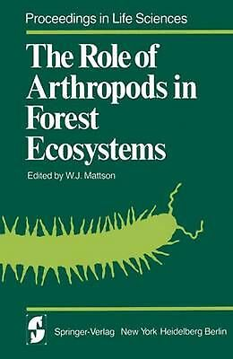 The Role of Arthropods in Forest Ecosystems by Paperback Book (English)