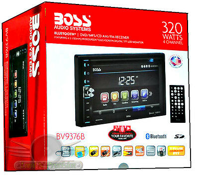 BOSS BV9376B Touchscreen Bluetooth DVD/CD/MP3/FM/USB CAR STEREO BV9376B Radio