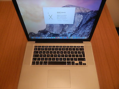 "Apple MacBook Pro ""Core i5.4"" 2.4 15"" 4GB 500GB Mid-2010"