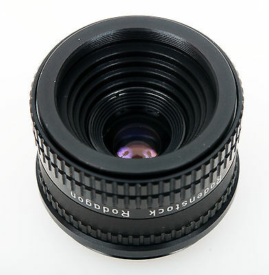 Rodenstock Rodagon 35mm f/4 6-element professional enlarging lens for half frame