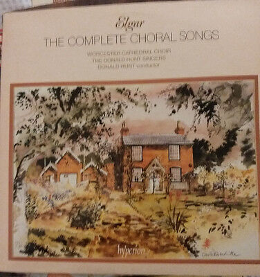 A66271/2 (S) - Elgar - The Complete Choral Songs 2Lp