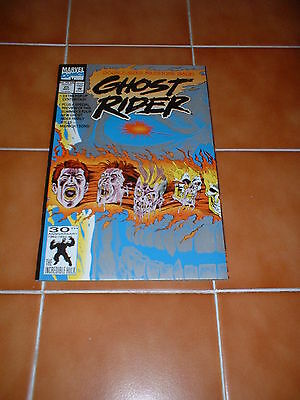 Ghost Rider (Vol2) 25. Nm Cond. May 1992. 1990 Series. Double Size, Pop Up Mid