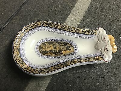 """SUPERB ANTIQUE 8 1/2"""" ELSMORE & FORSTER TUNSTALL CANDY DISH All Purpose EXCLLNT"""