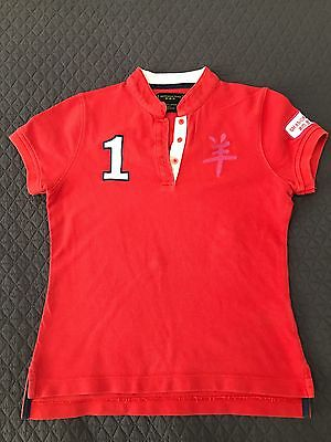 Shanghai Tang Kids Polo Top Size 8 Yr Of Goat T'shirt