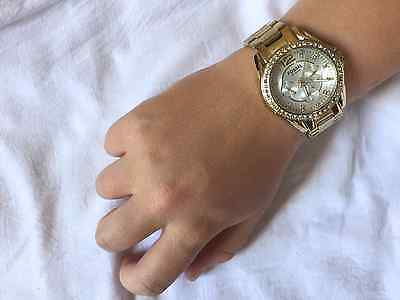 Ladies Gold Stainless Steel Fossil Watch