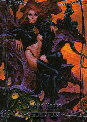 2016 Marvel Masterpieces - BASE #22 Goblin Queen - Odds 1:14 Low Shipping