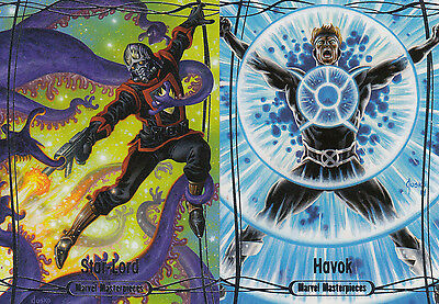 2016 Marvel Masterpieces - BASE #42 Havok - More Singles Low Shipping