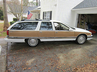 1996 Buick Roadmaster Estate Wagon Collector's Edition Wagon 4-Door 96 woody station Limited tow pack posi 5.7L LT1 V8 leather 3 seats 96k mi VGC