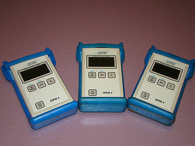 Noyes OPM4 Optical Power Meter Lot of 3 (294)