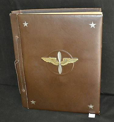ThriftCHI ~ 1940's Scrap Book Documenting Corp Denton E. Gottshall Boyertown, PA