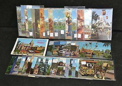 ThriftCHI ~ Collectible Post Cards Disneyland Disney World (44+Booklet)