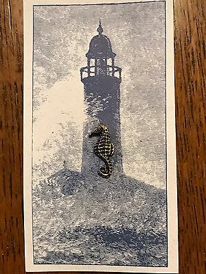 """Harbour Lights """"The Seahorse"""" Lapel Pin"""