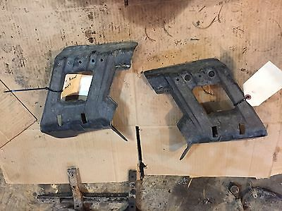 Yamaha Grizzly 660 02-08 Rear A Arm Axle Guards Protectors Set of 2 Left & Right