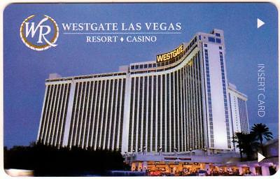 WESTGATE *Casino Day time View*las vegas hotel key card*Free FAST safe Shipping!