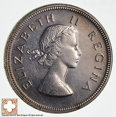 1958 South Africa 2 1/2 Shillings *1028
