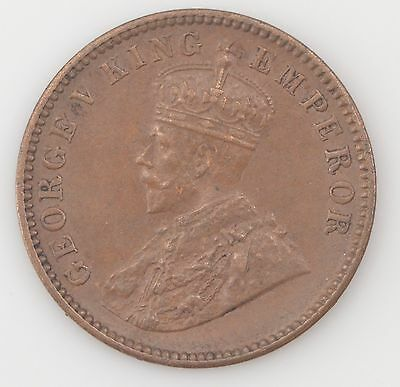 1936 India British Empire One Quarter Anna King George V *4501