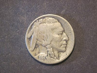 Circulated 1914 Buffalo Nickel Uncertified Ungraded Business Strike