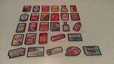 Topps 1974 Wacky Packages Series 8 Stickers 28/30 Set