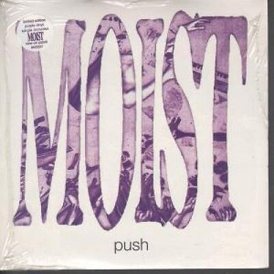 "MOIST Push 7"" VINYL UK Chrysalis 1995 Still Sealed Limited Edition Purple Vinyl"
